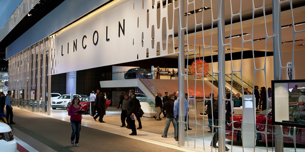 Lincoln stand @ the 2013 North American International Auto Show