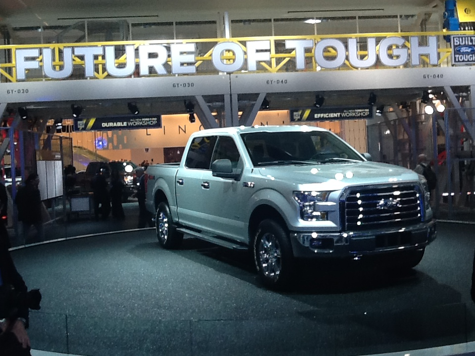 Ford Reveals the 2015 F-150 at 2014 North American International Auto Show