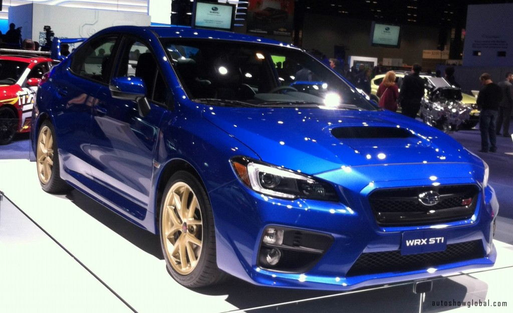 New-Suburu-WRX-STI-on-display-at-the-Chicago-Auto-Show-preview-Feb.-6-2014.-Photo-by-Deon-Pointer-for-autoshowglobal.com