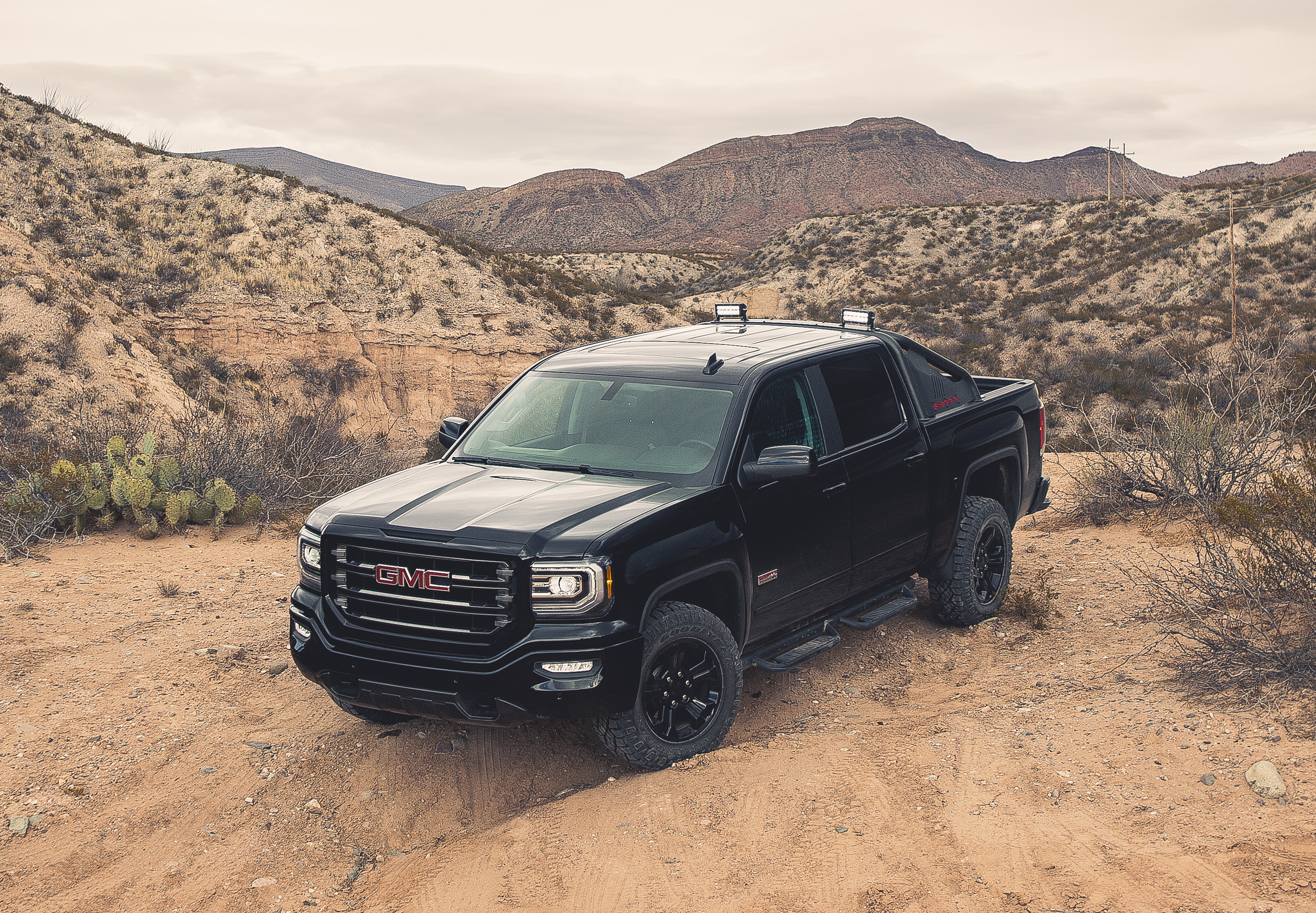 2016 GMC Sierra All Terrain X debuts at the 2016 Houston Auto Show on Wednesday, Jan. 27.